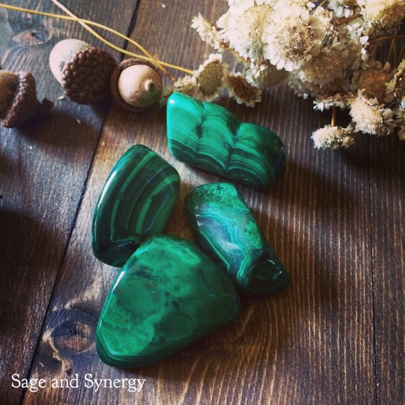 Tumbled Malachite, Malachite Stones, Healing Crystals, Polished Malachite, Malachite, Pocket Stones, Tumbled Stones, Large Malachite, Loose