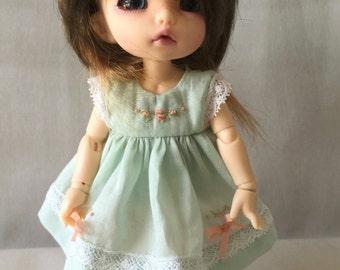 Dress and pants forBJD Pukifee, Lati yellow or similar 16cm doll
