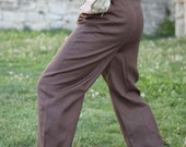 DISCOUNTED PRICE! In STOCK! Ready to Ship! Fixed sizes! Men's Classic Pants; Linen Pants; Medieval Pants; Handmade Pants;