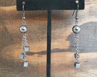Hemalyke™ (man made) Dangle Earrings- One of a Kind
