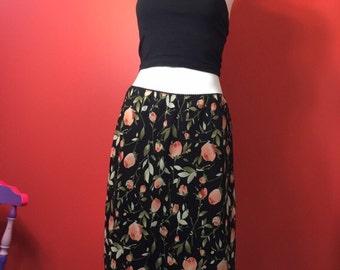 Vintage laura ashley Floral Skirt