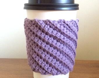 Crocheted Coffee Cozy -Cup Sleeve