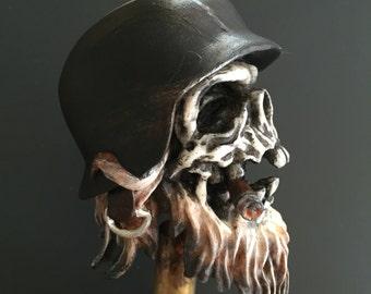 Frontschwein Shiftknob (Black helmet)