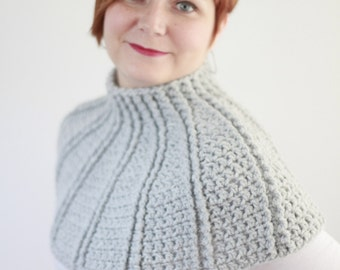 crochet shoulders warmer