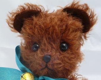 """OOAK An Earnest Bear by Tabbyclouds """"Bartlett"""" ( Mohair Artist Collector Teddy )"""