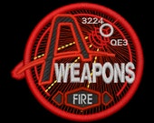 Artemis Weapons Station Insignia Iron-On Patch