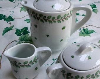 Italian Tea Set for One, 3 Pc., Richard Ginori