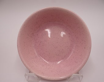 1950s Bauer Pink Speckle Desert or Sauce Bowl - 3 Available