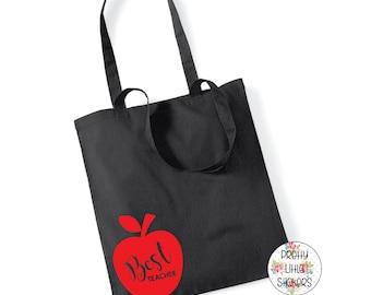 Best Teacher 100% Cotton Tote Bag