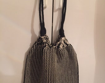 Handmade Hobo Purse 100% cotton