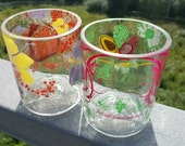 Recycled Absolut  Glasses