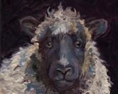 Sheep Painting Print