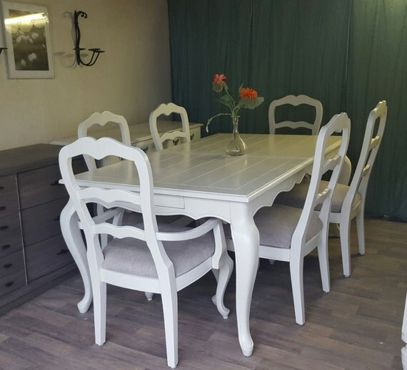 French Dining Room Set: Custom To Order French Provincial Dining Room Set. Table And