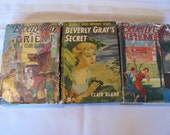 Beverly Gray Mystery Books by Clair Blank, 1950's