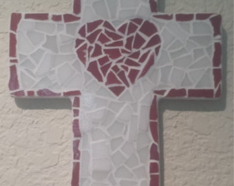 Red Heart Mosaic