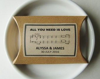 BEATLES MUSIC-Wedding Favors Boxes-Rustic Favor Boxes-Rustic Wedding Ideas-Personalized Favor Boxes-Rustic Wedding Favors-Weddings