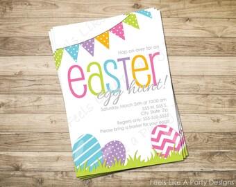 Custom Easter Egg Hunt Invite
