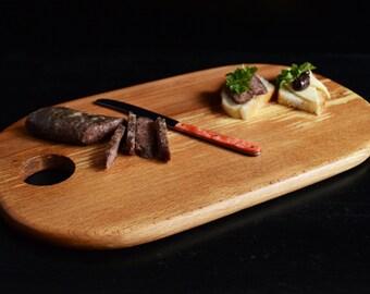 Breakfast Wooden Board, Wooden Cutting Board, Wooden Tray, Chef Board, Chopping Board, Woodworking, Kitchen, Anniversary Gift, Bread Board