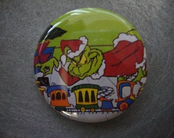 The Grinch Pinback