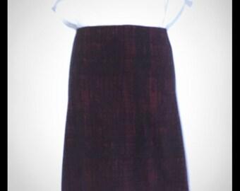 VTG 80's Ellen Tracy stretch knit pencil skirt 10