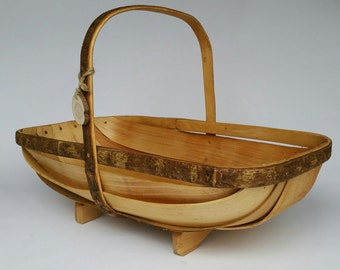 Sussex Style Trug Basket, trug, garden trug, christmas gift ideas, christmas gifts, wood, wooden, gifts for men