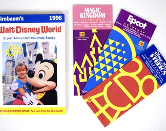 1996 Steve Birnbaum's Guide to Walt Disney World   Plus Magic Kingdom, Epcot & Disney - MGM Studios Guidemaps