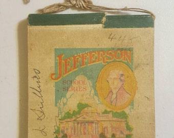 President Jefferson Notebook