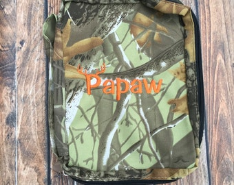 Personalized Camouflage Bible cover, Men's Bible Cover, Custom Bible cover for Men