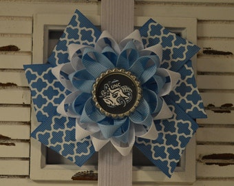 UNC Tarheels Bow