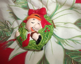 Popeyes Wimpy Christmas Hanging Ornament