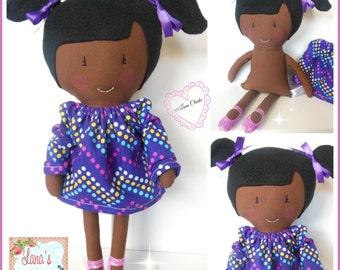 "Lana's Lovables 15""(37cm) Fabric Doll, Cloth Doll, Rag Doll, Personalised Doll, Custom Doll, Personalisation"