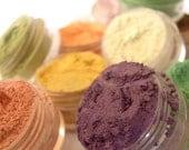 60% OFF - PICK 5 - Eyeshadow Mineral Makeup Natural Vegan Mineral Eye Color