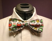 8-Bit Mario Power-Up Print Neck Tie or Bow Tie