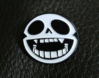 Gorillaz Bonesy lapel pin