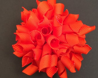 Orange Korker Bow
