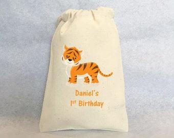 "15 Safari, Safari party, Safari party bags, Zoo party, Lion, Zebra, Giraffe, Tiger, Elephant, - Safari party favor bags 4"" by 6"""