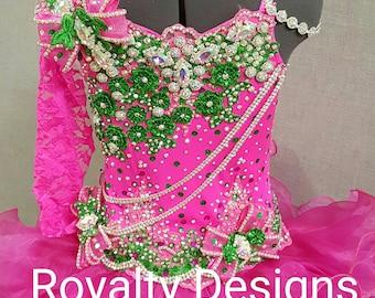 Beauty pageants dress