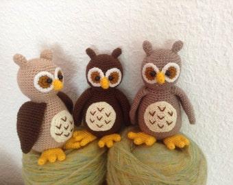 sweet owl crochet pattern