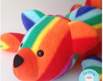 Rainbow Honey Bear
