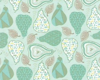 Moda North Woods Mod Pear in Icicle - 27243 13 - Kate Spain - 1 yard