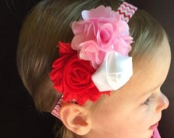 Valentine Headband..Baby Headband..Baby Headbands..Valentines Day Headband..Headband..Baby Girl Headband..Baby..Valentine