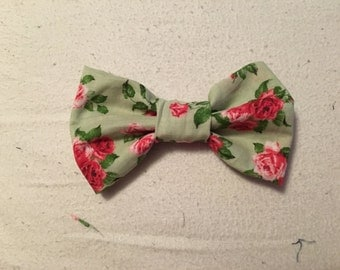Mint Rose Bow