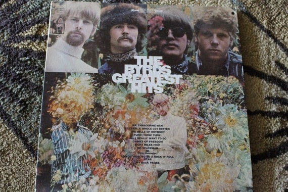 David Jones Personal Collection Record Album - The Byrds - Greatest Hits