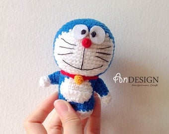 Amigurumi Doraemon Pattern : Free pattern crochet doraemon manet for