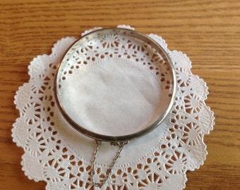 RESERVED Vintage Sterling bangle