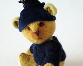 """Artist Teddy bear OOAK """"Rocky"""""""