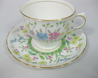 Tuscan Fine English Bone China, Bone China Tea Cup, Bone China Cup and Saucer