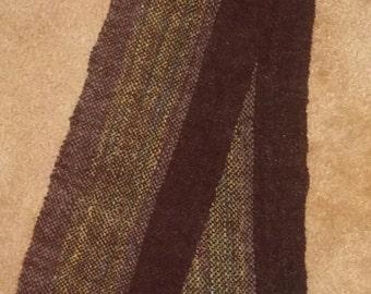 tweedy winter scarf