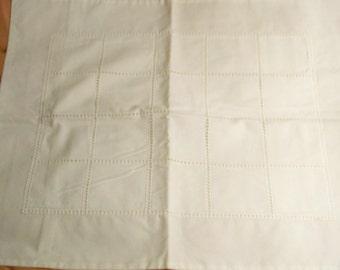 Crisp White Cotton Pillow Sham - Cecelia-Marie - 190