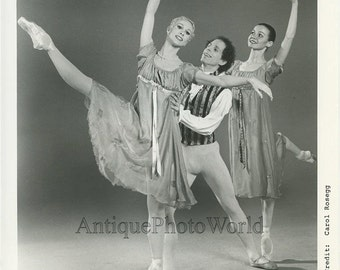 Helgi Tomasson Chamber Ballet vintage photo